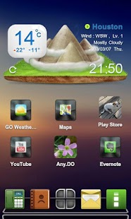 Drock Next Launcher 3D Theme - screenshot thumbnail
