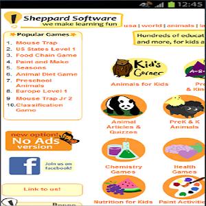 sheppardsoftware.com Android App