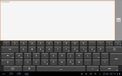 HintKeys Free Keyboard- screenshot thumbnail