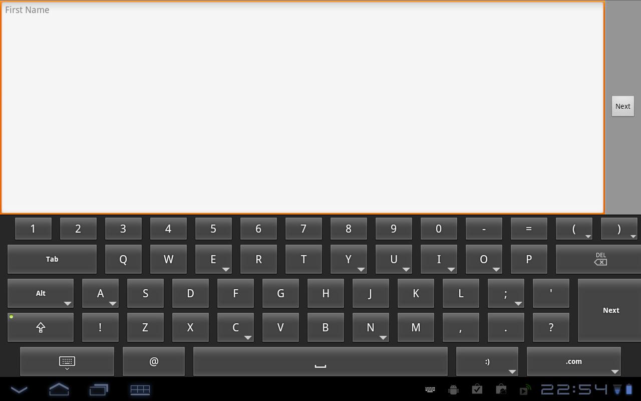 HintKeys Free Keyboard- screenshot