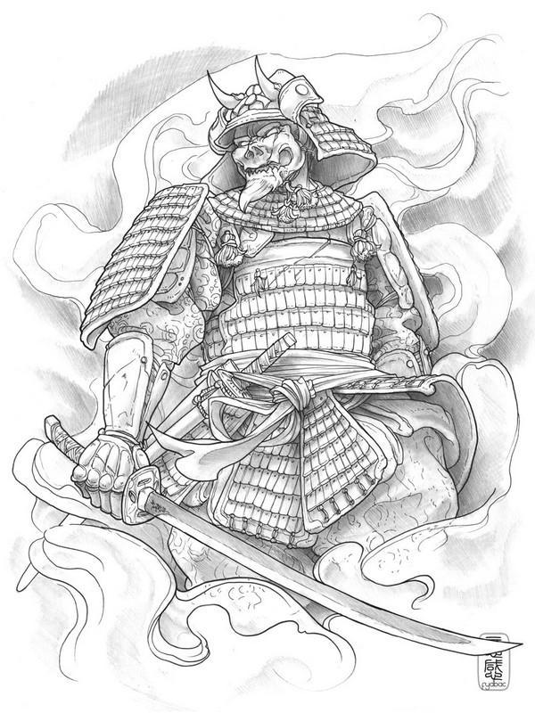 Samurai Tattoo Wallpaper Android Apps On Google Play