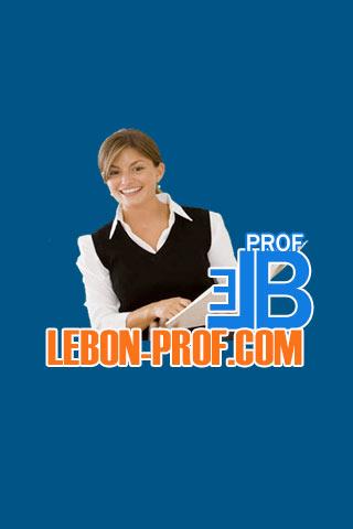 LeBonProf