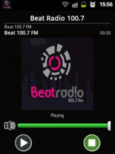 Beat Radio 100.7 Screenshot 2
