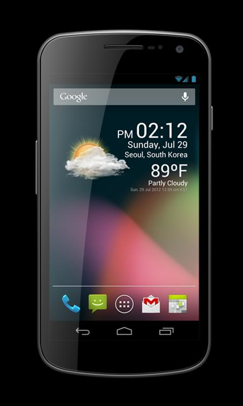 Weather Clock Widget Premium- screenshot