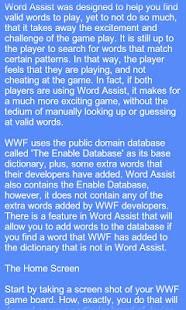 Word Assist- screenshot thumbnail