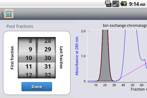 Protein Purification for Phone- screenshot
