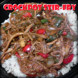Crockpot Pork Stir-fry