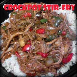 Crockpot Pork Stir-fry