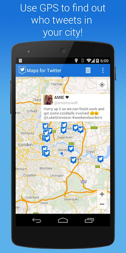 Maps for Twitter