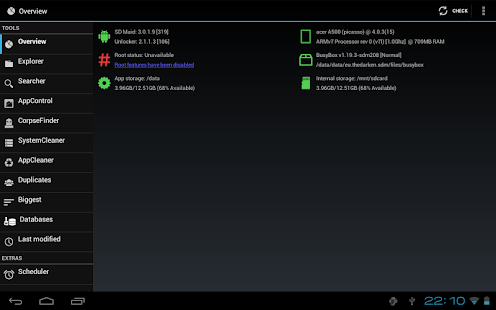 App SD Maid Pro - Unlocker APK for Kindle