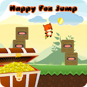 Happy Fox Jump