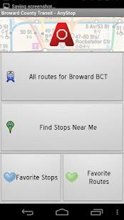 Broward County Transit AnyStop - screenshot thumbnail