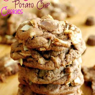 Reese's Chocolate Potato Chip Cookies.