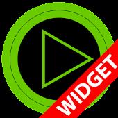 Poweramp widget TRON GREEN