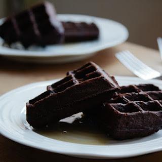 Chocolate And Coconut Buckwheat Waffles {gluten Free}