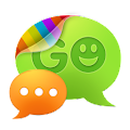 App GO SMS Pro New Year - Orange apk for kindle fire