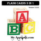 Flash Cards 3 in 1