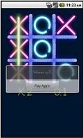 Screenshot of Tic Tac Toe Glow (No Ads)