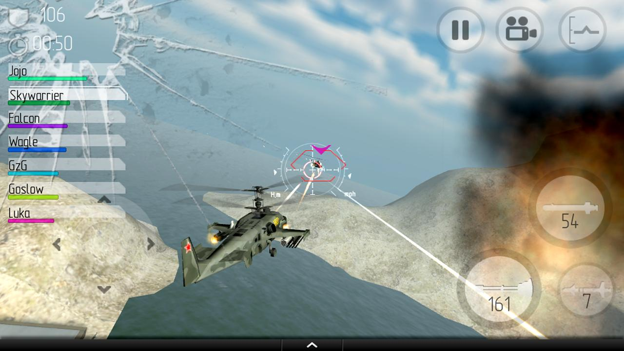 CHAOS Combat Helicopter HD №1- screenshot