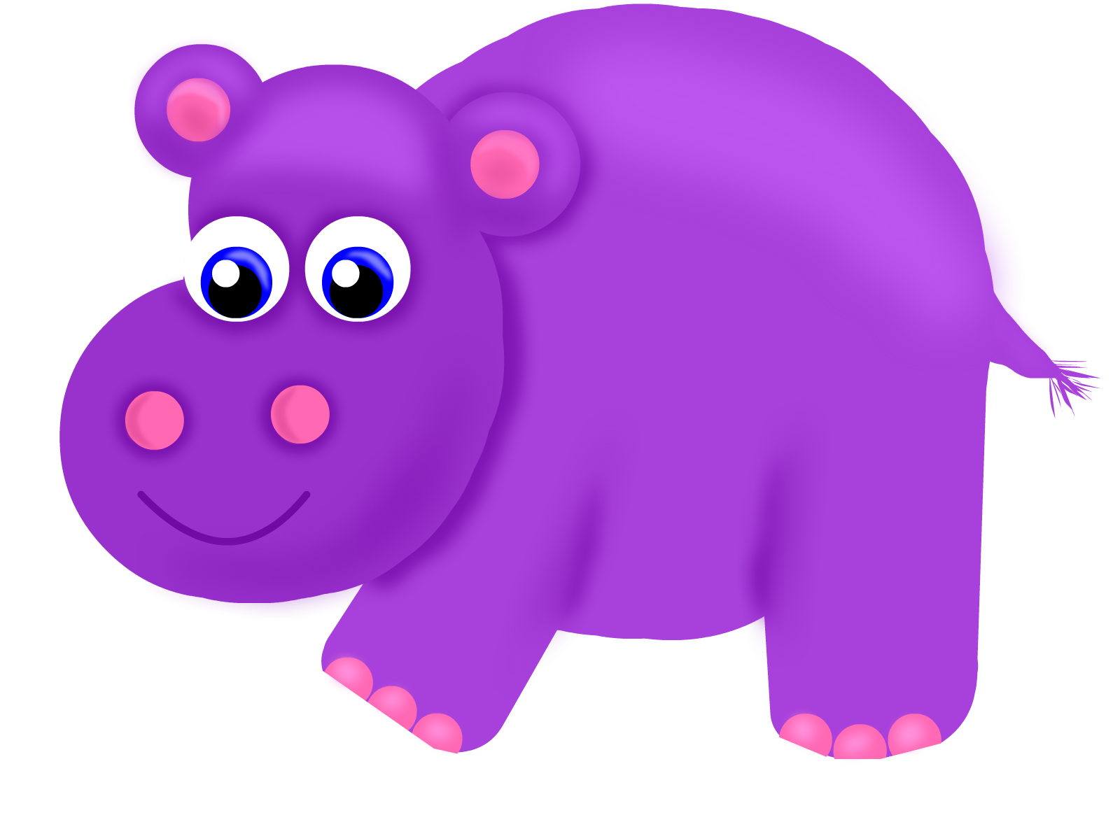 Uncategorized Hippo Drawings purple hippo drawings sketchport hippo