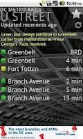 Screenshot of DC Metro Rails
