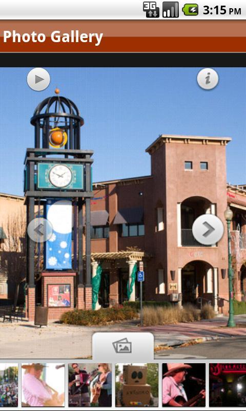 Downtown Vacaville California- screenshot