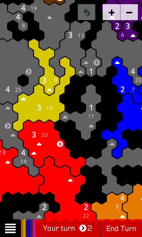 Battle for Hexagon - screenshot