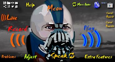 Screenshot of Bane Voice Changer BTVC Batman