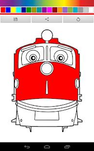 Chuggington Trains Coloring