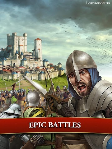 android Lords & Knights - Strategy MMO Screenshot 4