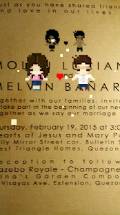 Molyn And Melvin Wedding App screenshot