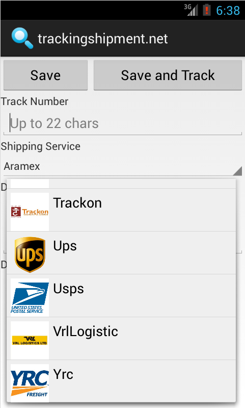 trackingshipment.net- screenshot