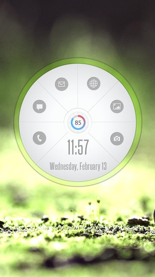 Circle Launcher HD UCCW SKIN- screenshot
