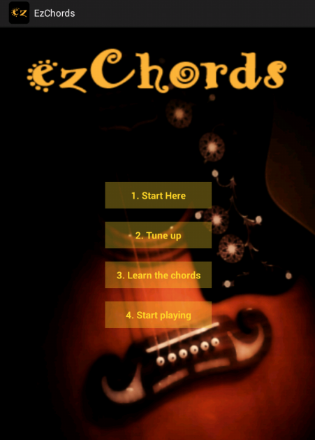 ezChords - Learn Guitar - screenshot