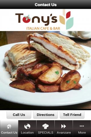 Tony's Italian Cafe