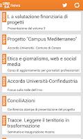 Screenshot of Unisa Connect