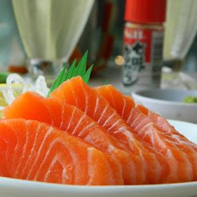 sashimi by Diadjeng Laraswati H - Food & Drink Eating ( japan, food, , Food & Beverage, meal, Eat & Drink )