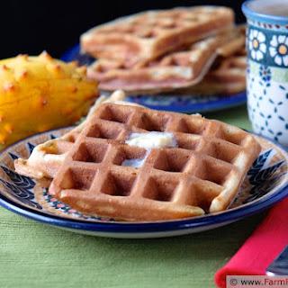 Horned Melon Waffles