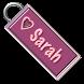Sarah Name Tag