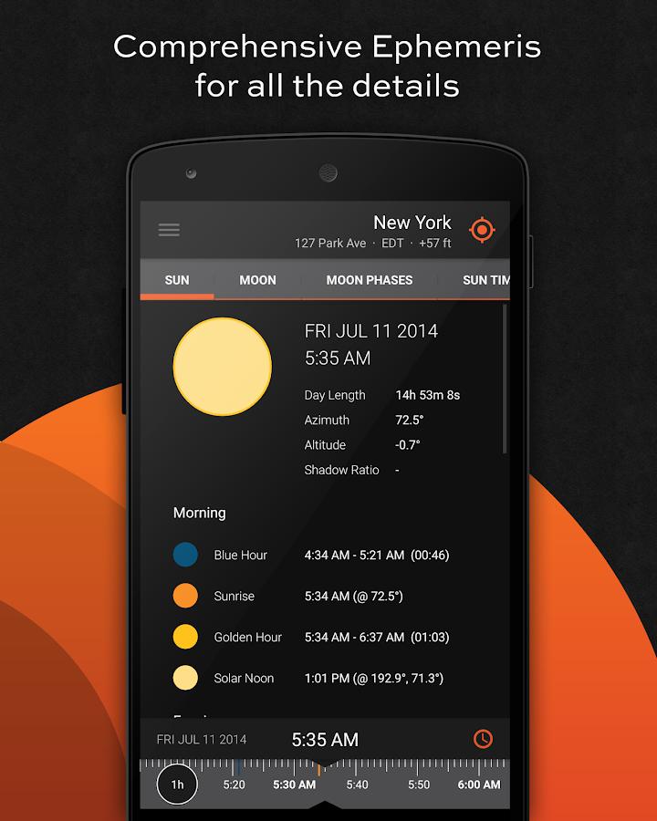 Sun Surveyor (Sun & Moon) - screenshot
