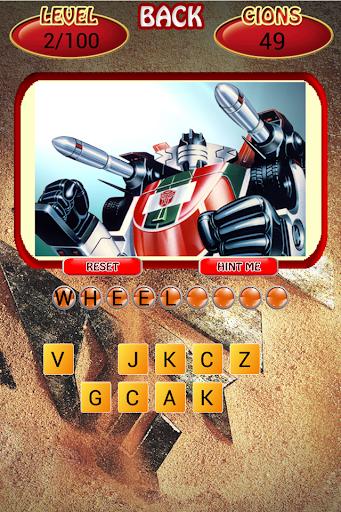 Quiz Transformers Game