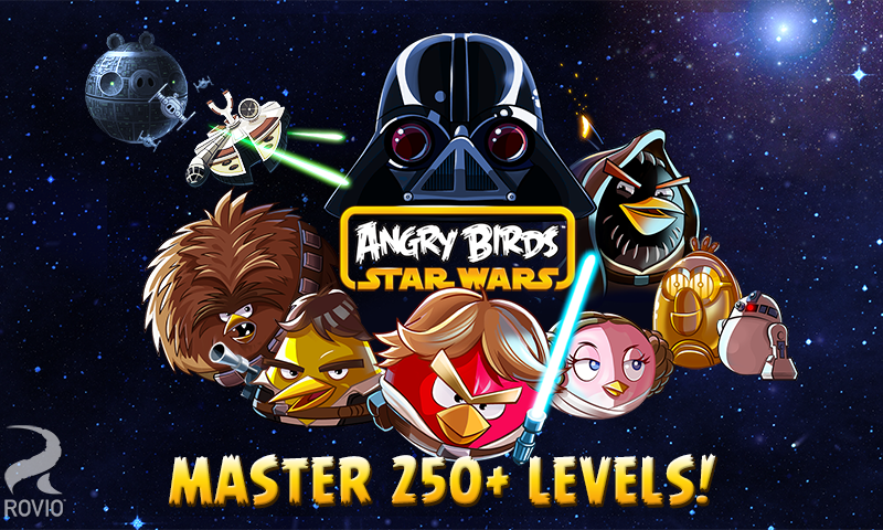 Angry Birds Star Wars HD screenshot #1