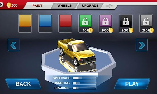 racing car game- screenshot thumbnail