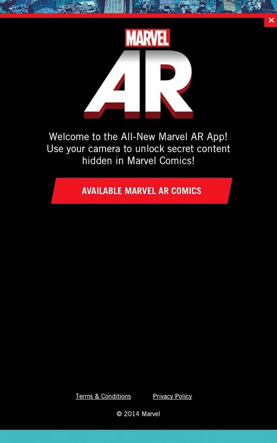 Marvel AR- screenshot