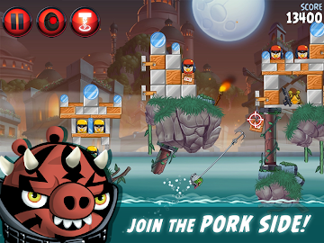 Angry Birds Star Wars II Free Screenshot 2