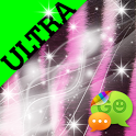 Ultra Cute Pink Zebra Theme icon