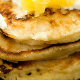 Coconut pancakes (Uncle Austin's Mexican pancakes).