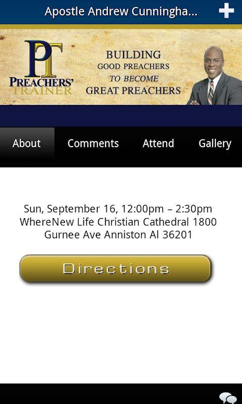 Preachers Trainer - screenshot