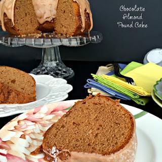 Chocolate Almond Pound Cake.