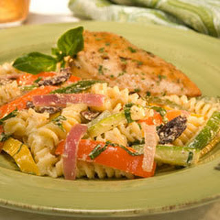 Pasta Salad with Roasted Vegetables Recipe